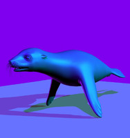 animals character 3d model