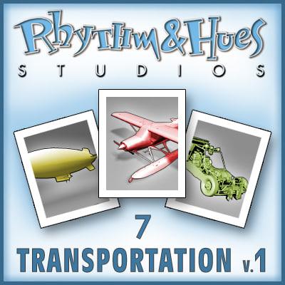 transportation sport 3d model