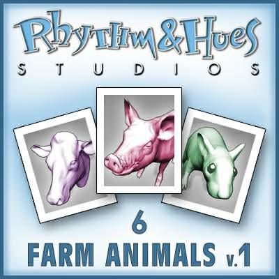 farm animal 3d model