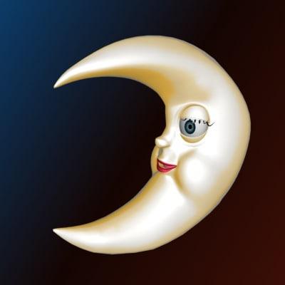 3d max moon