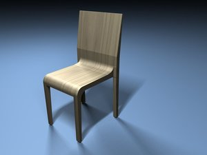 3d model designer chair alias
