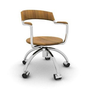 3d office stylish chair model