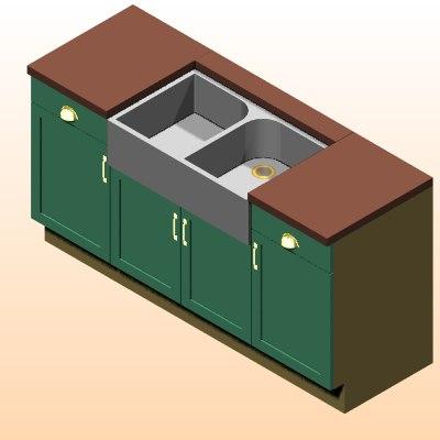kitchen architectural dxf free