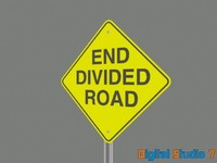 End Divided Road - 3ds.zip