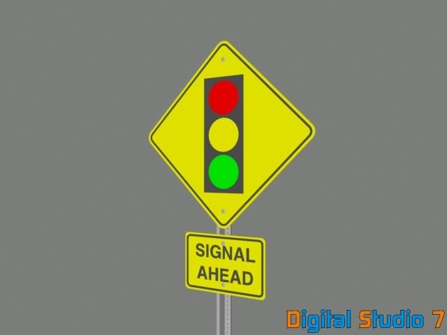 3d signal ahead