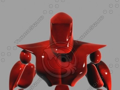 robot refrence man 3d model