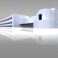 3d model la casa del balilla