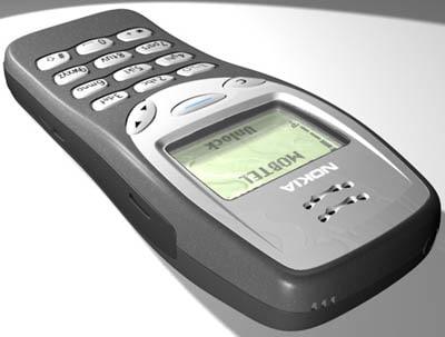 3d nokia 3210 model