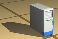 case computer 3d model