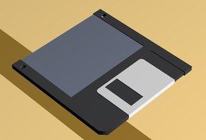 floppy storage 3d max