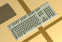 3d model keyboard