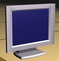 3d model screen