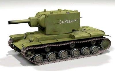 soviet tank 3d model