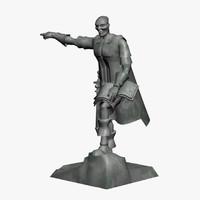 statue centurion 3d xsi
