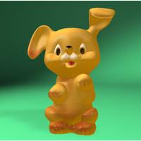 3dsmax dog toy
