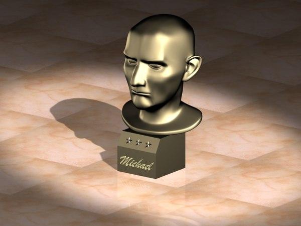 3d model statuary