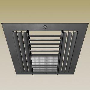 air vent 3d model