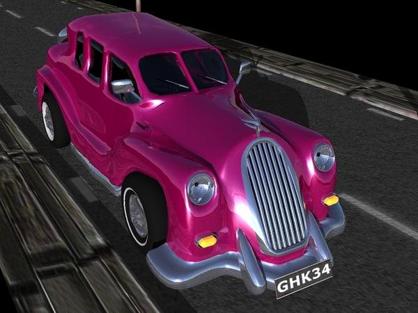 3d custom car bomb model