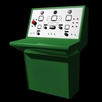 lightwave sci-fi control console