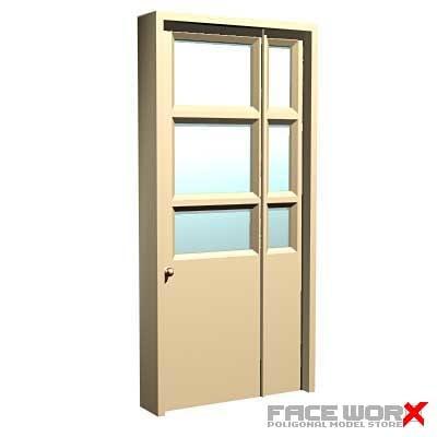 maya glass door