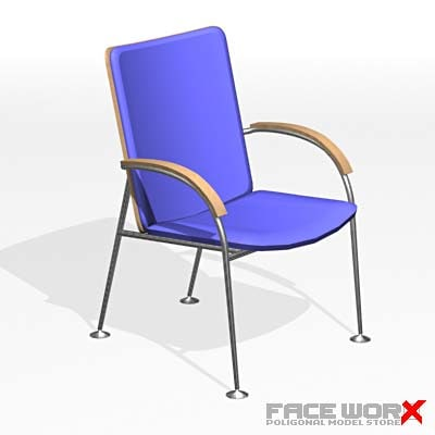 3d max chair furniture