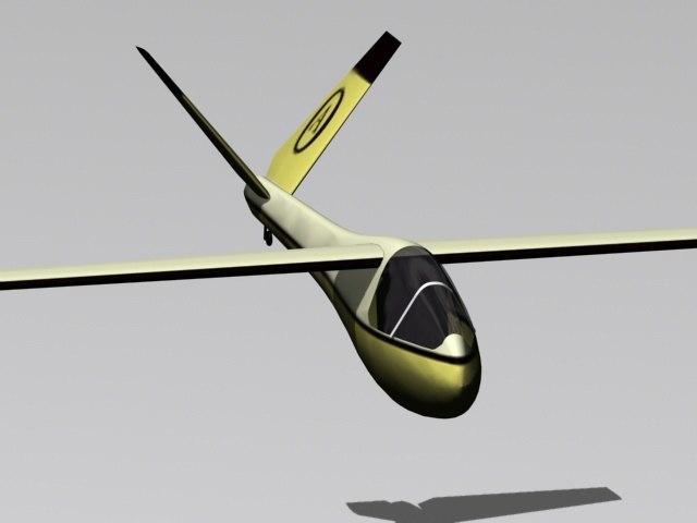 glider 3d max
