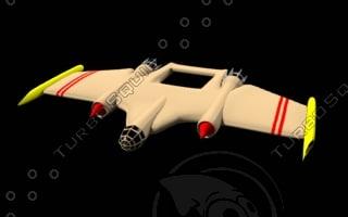lightwave spacejet bomber
