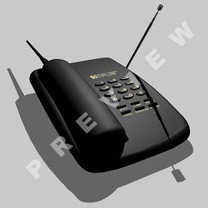 3d model phone panasonic