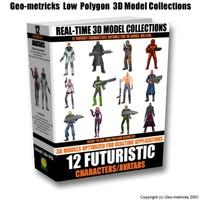 max 12 futuristic character