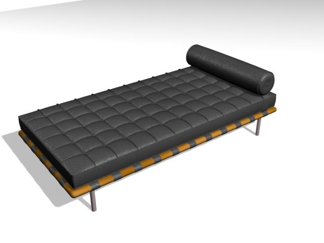 day bed 3d max