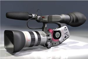 lightwave canon camcorder