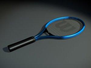 tennis racket 3d model