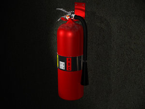 extinguisher 3d 3ds