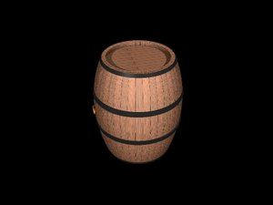 oak barrel 3ds free
