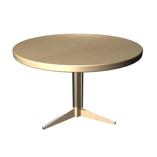 classic dining table 3d max
