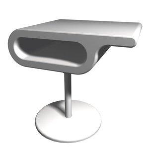 michael table 3d model