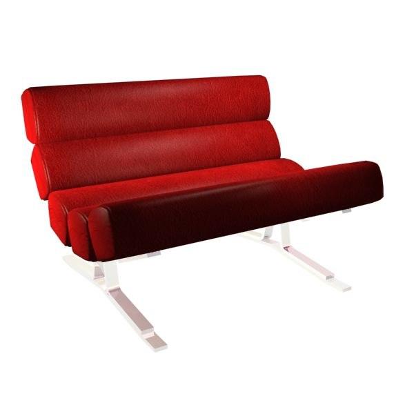 er plunket lounge chair 3d model