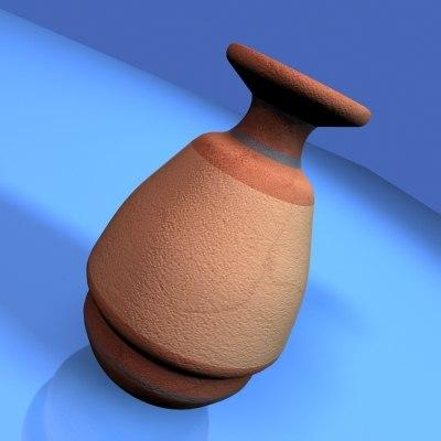 ancient jug 3d model