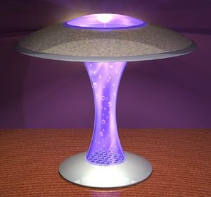 lamp bubbles 3d model