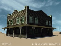 county cottage 3d ma