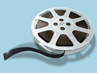 maya 35mm film reel