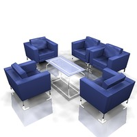 chairs offices 3d model