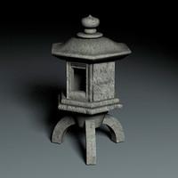 3d zen garden model