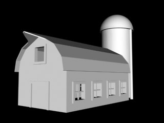 3d barn shed