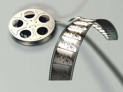film roll 3d model free download