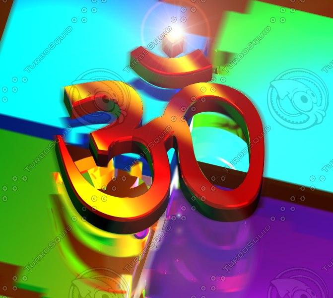 free max mode religious hindu symbol om