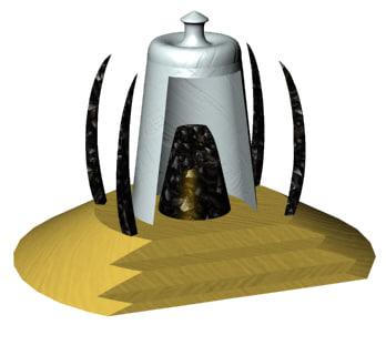 3d model shrine portal