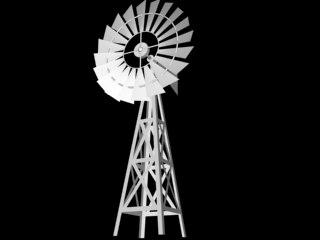 3ds max windmill wind