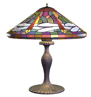3d 3ds tiffany lamp