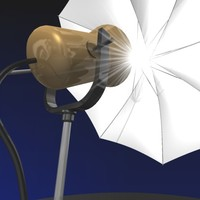 flash light 3d model